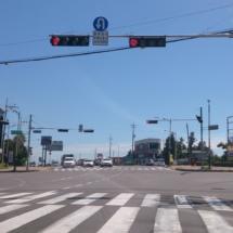 Right_turn_green_light_at_Jeju